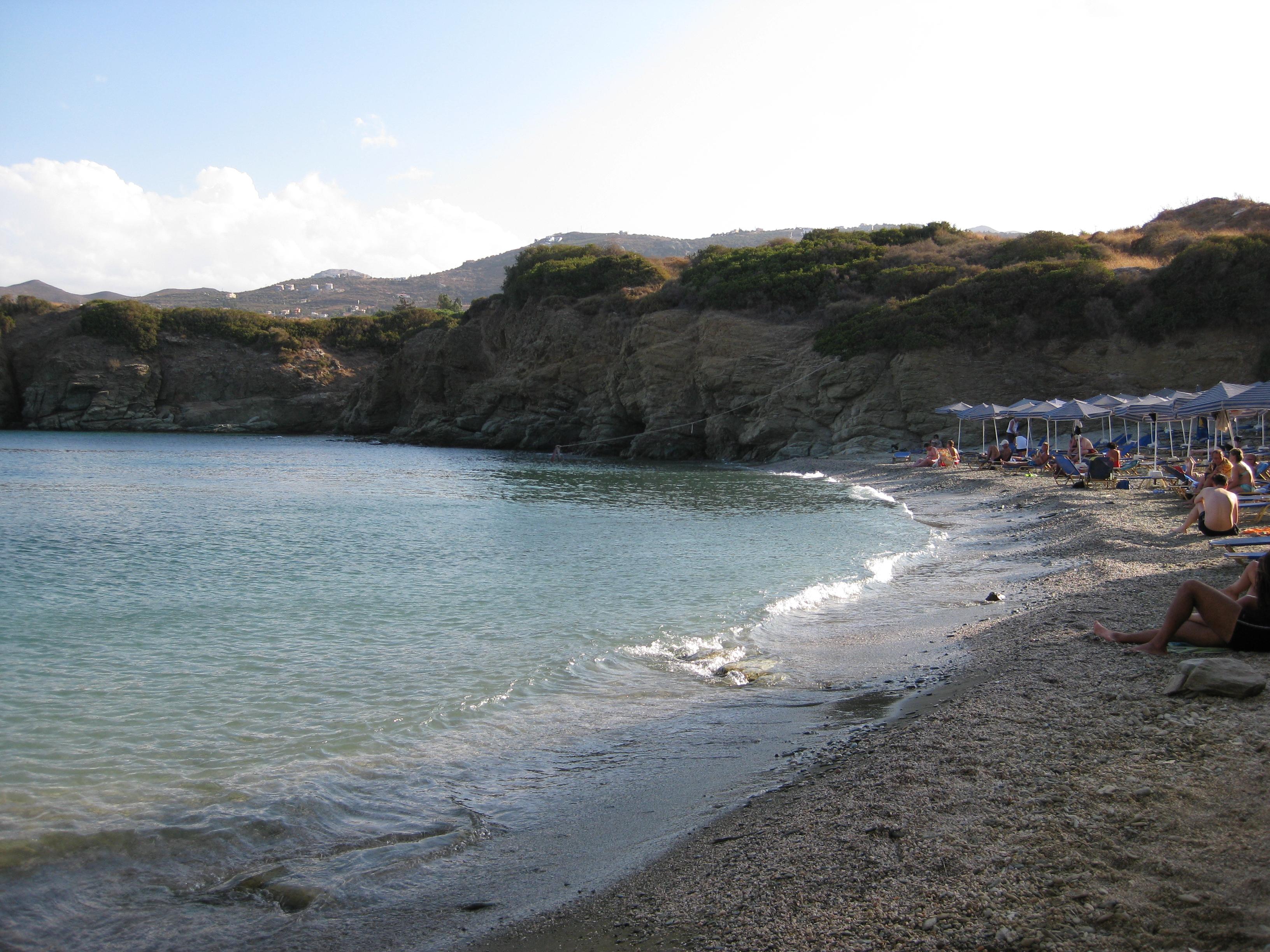 Пляж Мононафтис - остров Крит, Греция: фото, видео, расположение на карте