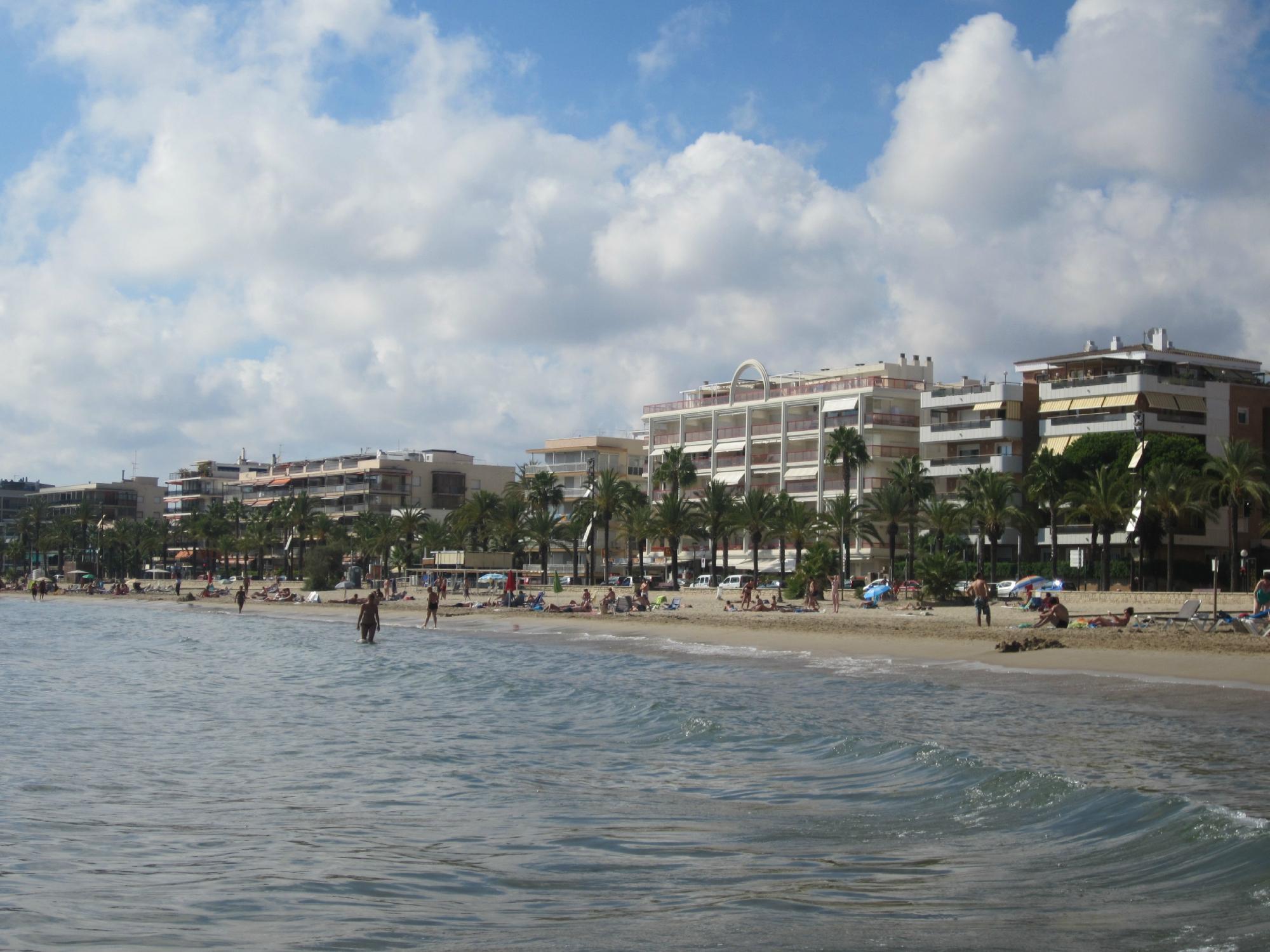 Испания салоу фото пляжа